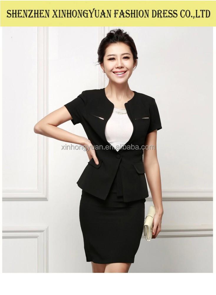 Classic Fashion Ladies Career Apparel Women Formal Suit Female Office Uniform View Ladies