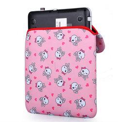 2014 Wholesale sockproof Neoprene laptop sleeve case for girls