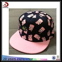infant flat brim snapback hat to decorate