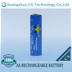 newest high quality rechargeable battery dry battery