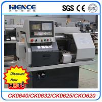 metal Horizontal mini lathe cnc machine price CK0625 with CE ISO