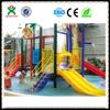 2015 Qixn Best sale water park, water play equipment, plastic slides (QX - 081C)