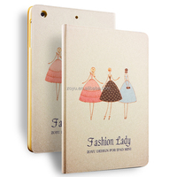 Pu Leather Case For Ipad Air1/ 2, For Ipad mini2/3 Leather Case Painting