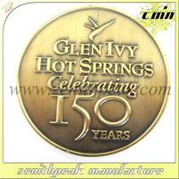 2014 Hot selling custom souvenir coin,metal souvenir coin,usa souvenir coins for company