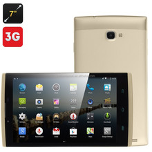 7 Inch 3G Tablet - Android 4.4 OS, MTK8382 Quad Core CPU, OTG, 8GB Internal Memory