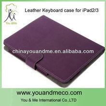 Purple Bluetooth keyboard for ipad 2 case