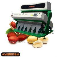 peanuts color sorter machine, CE & ISO approved CCD color sorter
