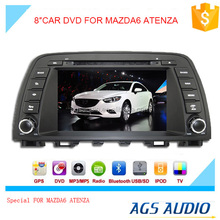 touch screen car dvd mp3 mp4 player for MAZDA ATENZA with reversing camera/car cassette/cd dvd/gps