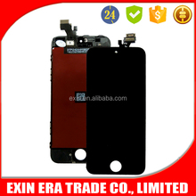 Hot sale good price mobile phone displays touch screen for iphone 5 lcd display with digitizer