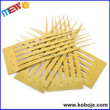 Plástico artificial cubierta de hoja de palma de bambú plástico palapa paja