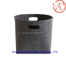 Wholesale felt storage basket for Idle things