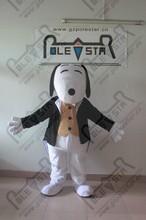 Popular animated classic big dog mascot cartoon costume