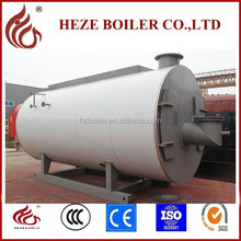 WNS multi fuel oil gas fired efficiency industrial steam boiler price