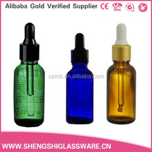 30 ml to 100 ml glass essential oil bottle with dropper
