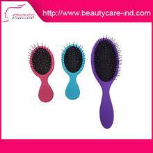Hot sale best price salon professional colorful long plastic hair brush
