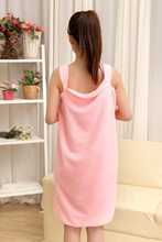 towel wrap dress