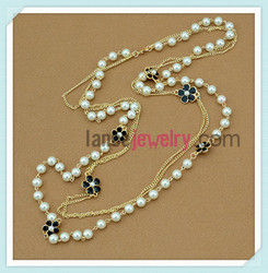 Fashionable New Design Gold Chain Necklace Chain Saw