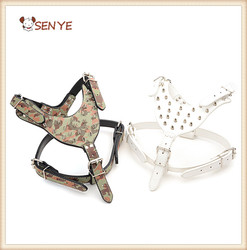 Factory Price High Quality Bullet Nail Pet Harness Lead Big Dog Leash Collar for Large Dogs