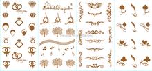 Metallic Temporary Tattoos - Beautiful Tattoo Flash & Body Art - Black, Silver & Gold Tattoo...