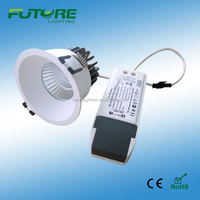 high power led downlight 9w cob dimmable with 3years warranty