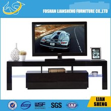 Modern tv stand white european style led light TV stands