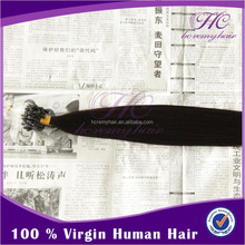 Alibaba China Supplier Wholesale Raw Virgin Cheap Indian Remy Micro Hair Weft
