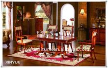 European style wood classic dining table designs FA813-B