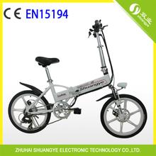 """20 """" pliant vélo électrique de terre pour les enfants Made In China"""