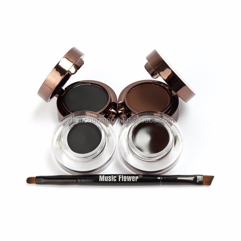 Pro 4 In 1 Music Flower Automatic 24h Waterproof Eyebrow Powder