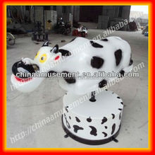 Kids cute riding toys ! bucking bronco mechanical rodeo bull inflatable