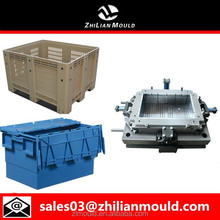Plastic Shipping Crate Mould with High Precision