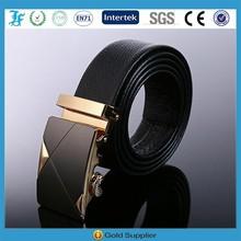 Factory Wholesale Automatic Buckle Man Genuine Leather Belt