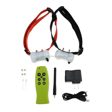 2015 Aetertek Rechargeable Waterproof 350M Remote Electric Shock No Bark Stop barking Dog Pet Training Collar for Two DOGS