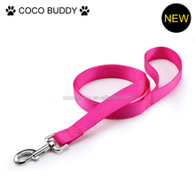 2015 wholesale discounts outdoor pet dog leash with collar super high nylon quality