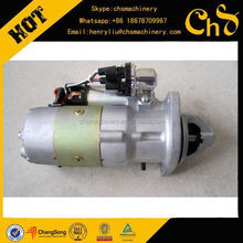 For Weichai spare parts,engine parts Motor Starter 13023606 for SDLG XCMG XGMA FOTON wheel loaders,construction machinery parts