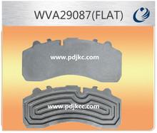 WVA29087 truck brake pad back plate