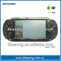 "Hot selling 4.3"" android game player with Wi-Fi and 3D game"