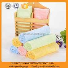China factory stocklot solid color terry towel bamboo with lowest price