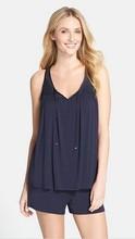2015 OEM Women's Comfy Silky Modal Jersey Pajama Short Set
