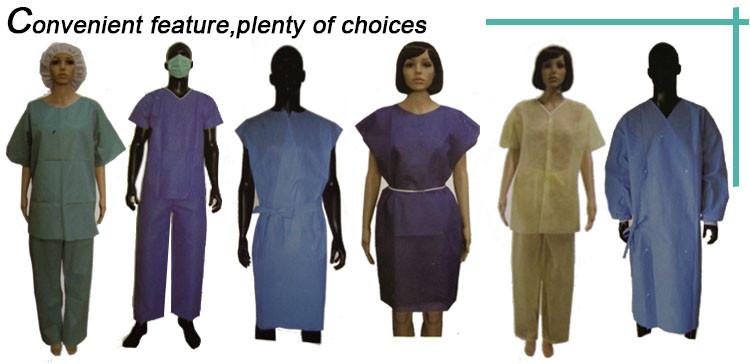 SBPP Adult Disposable Patient Gown (2)