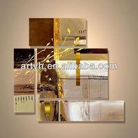 Popular modern handpainted image of decorative canvas