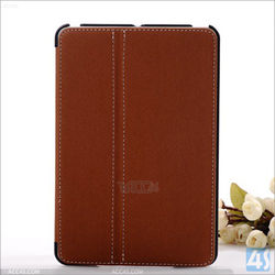 for ipad mini case smart leather case with stand