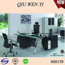 2015 Modern Glass Top Office Table