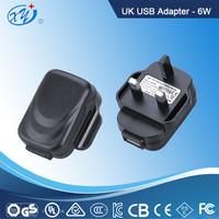 100-240V USB adapter/power supply UL/CE/GS/SAA/PSC/KC approval