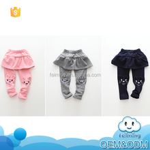 2016 innovative paoduct fancy cat dress culotte new design winter top brand casual pants