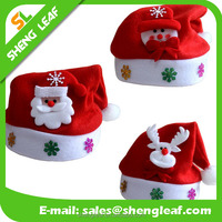 wholesale 2016 newest products christmas decoration hat santa claus hat ideas and stocking