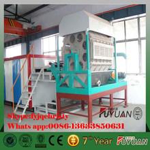 henan zhengzhou semi-automatic paper egg tray machine with new technolodge