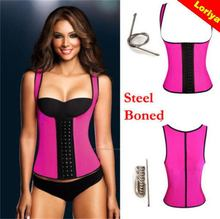 High quality nice latex garter corset for lady
