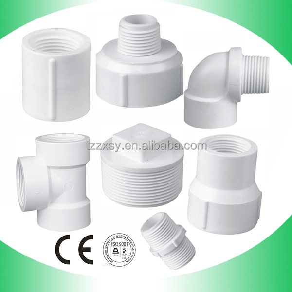 Plastic pipe fitting pvc view