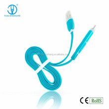 USB2.0 Data Sync Cables with LED Light for iPhone, for iPad and for Samsung Galaxy